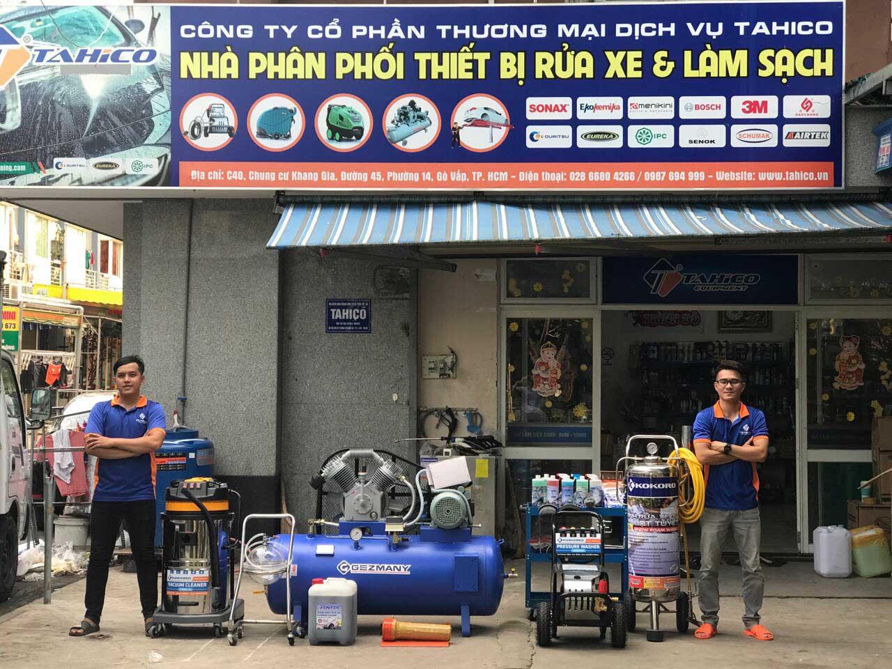 Chuyên cung cấp các thiết bị rửa xe ô tô chuyên nghiệp