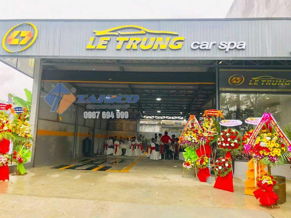 Trạm rửa xe ô tô Le Trung - được cung cấp bởi Tahico