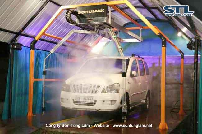 Hệ thống máy rửa xe Ấn Độ