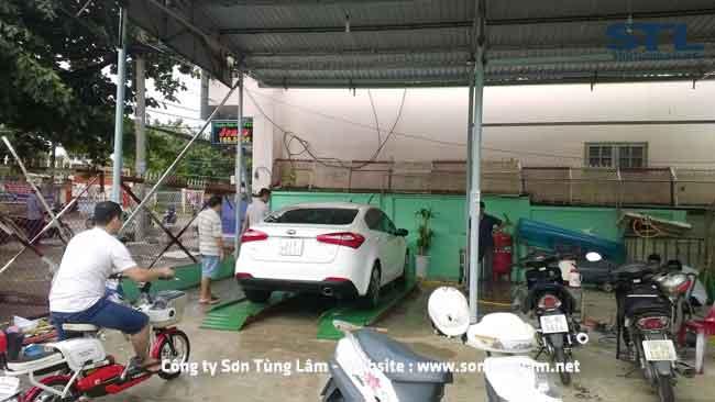 rửa xe ô tô và xe máy