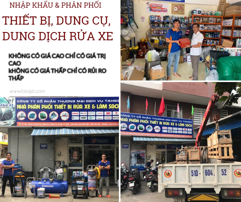 Nhà nhập khẩu và phân phối thiết bị - dụng dụ - dung dịch rửa và làm đẹp xe