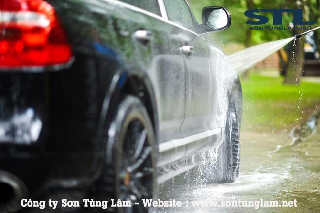 máy rửa xe tại gia