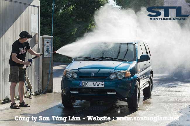 xịt rửa xe ô tô