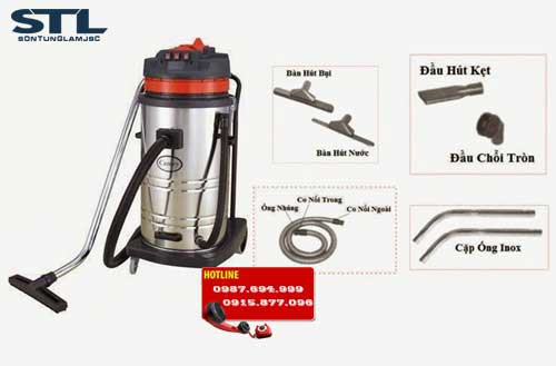 may hut bui inox 2 1 bf 580 70l