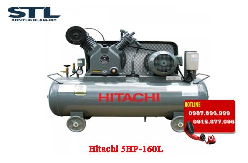 may nen khi hitachi 5hp 160l