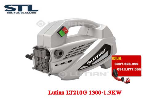 may rua xe gia dinh lutian lt210g 1300 1.3kw