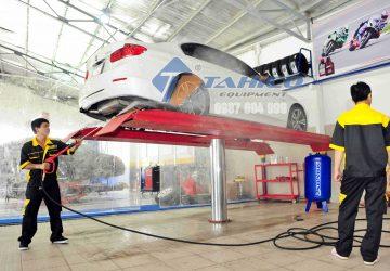 Cầu nâng 1 trụ rửa xe ô tô SHARK
