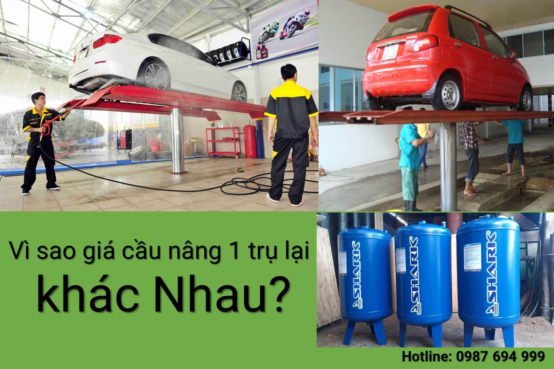 Giá cầu nâng 1 trụ rửa xe ô tô