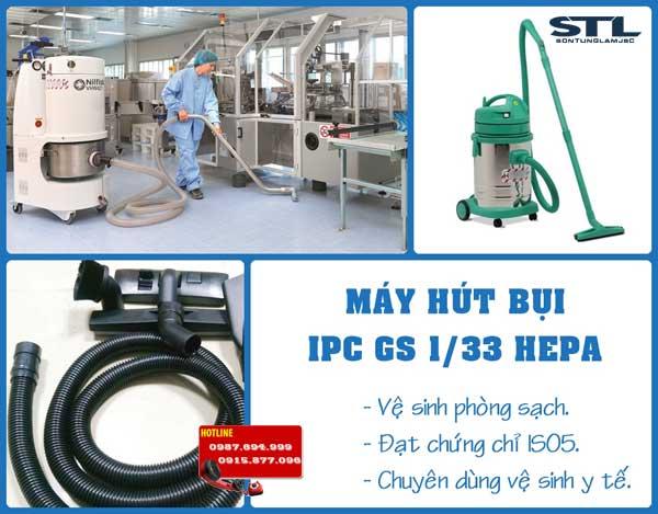 may hut bui phong sach gs 133 hepa