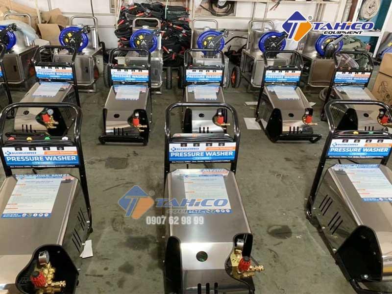 Chọn máy rửa xe cao áp nào cho phù hợp?
