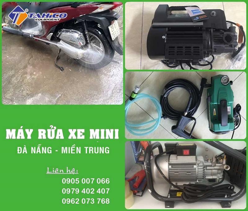 Công ty cung cấp máy rửa xe gia đình tại Đà Nẵng - Miền Trung