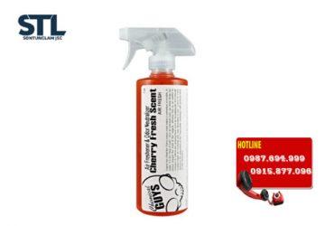 chai xit khu mui huong cherry chemical guys cherry fresh scent premium air freshener odor eliminator 16oz