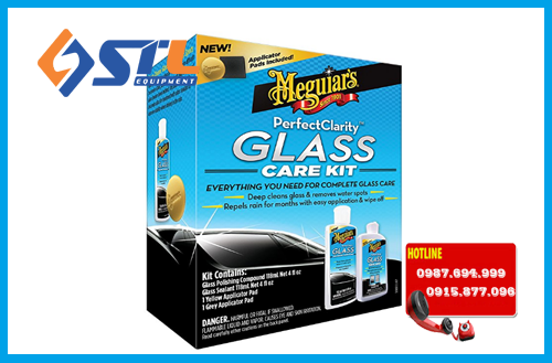 bo phuc hoi lam trong va bao ve kinh lai meguiar s g8800 perfect clarity glass kit 11 fl oz 1 pack