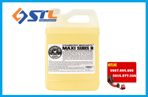 nuoc rua xe bot tuyet chemical guys maxi suds ii super suds 1.8lit