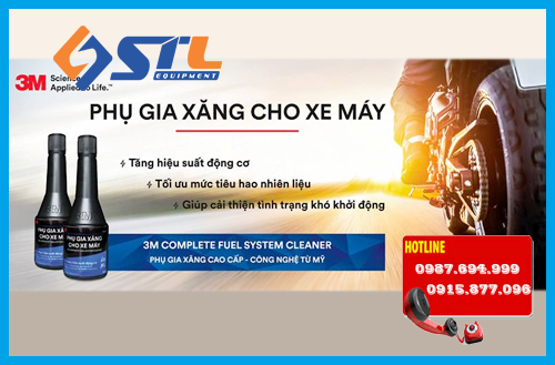 phu gia 3m complete fuel system cleaner 08813lv 60ml