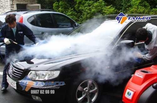 Ưu điểm khi mua máy rửa xe hơi nước nóng cũ
