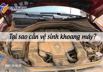 Bụi bẩn bám giảm tuổi thọ của xe