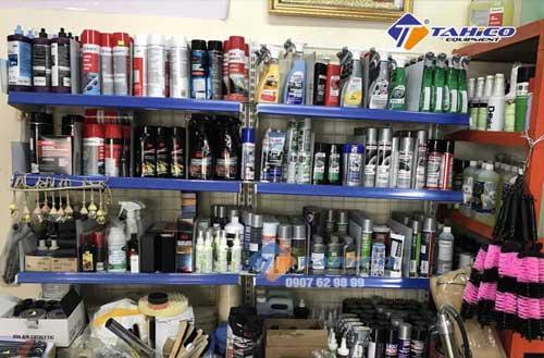 Công ty TAHICO bán các dụng cụ và dung dịch rửa khoang máy