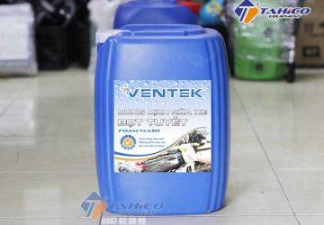 Dung dịch rửa xe bọt tuyết Ventek can 20 lít