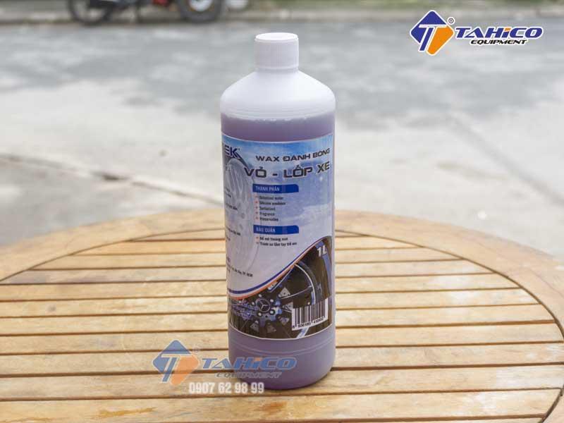 Dung dịch dưỡng đen bóng lốp ô tô xe máy Ventek 1 lít