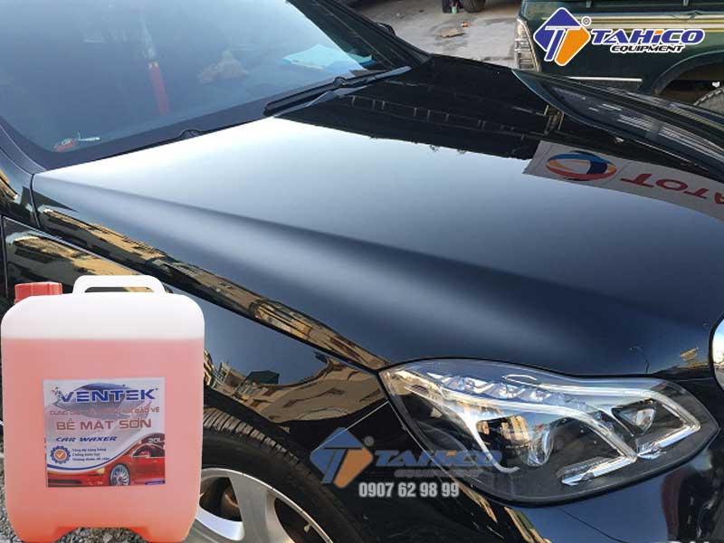 Giúp nhanh chóng làm khô xe, tăng độ sáng bóng cho vỏ xe