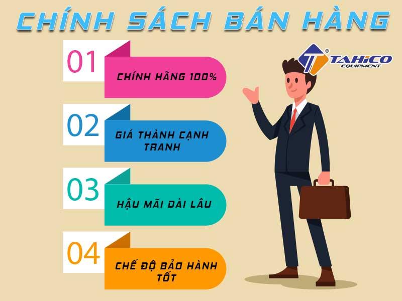 Chính sách bán hàng của công ty TAHICO