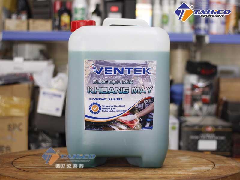 Dung dịch rửa khoang máy ô tô xe máy Ventek can 20 lít