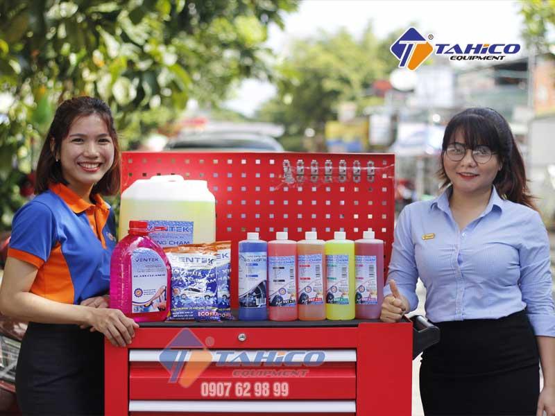 Các sản phẩm không chạm đang được bán tại công ty TAHICO