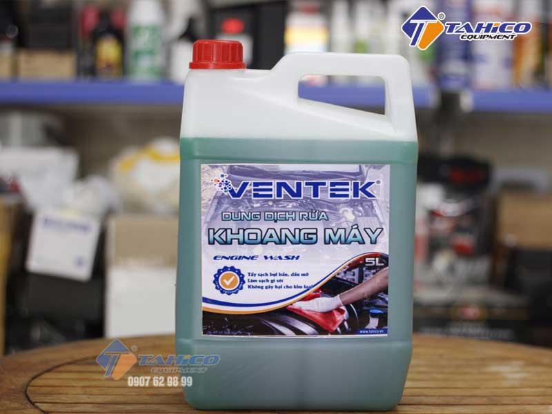 Dung dịch vệ sinh khoang máy ô tô xe máy Ventek can 5 lít
